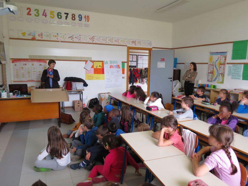 Fustelgraf meets students